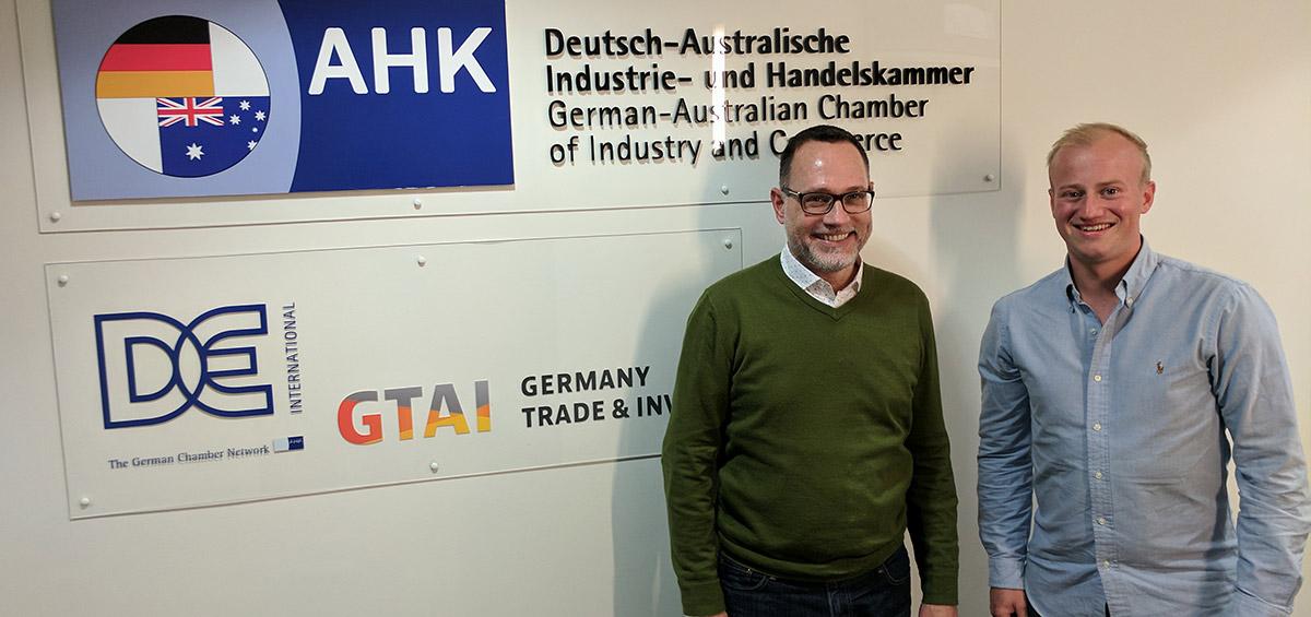 Besuch der deutschen Auslandshandelskammer Sydney