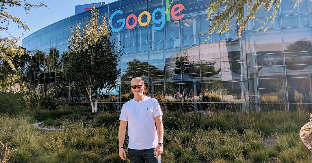 Christoph David Schneide besuchte das Silicon Valley